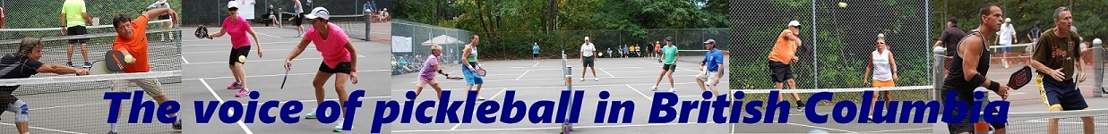 The voice of pickleball in British ColumbiaPicture